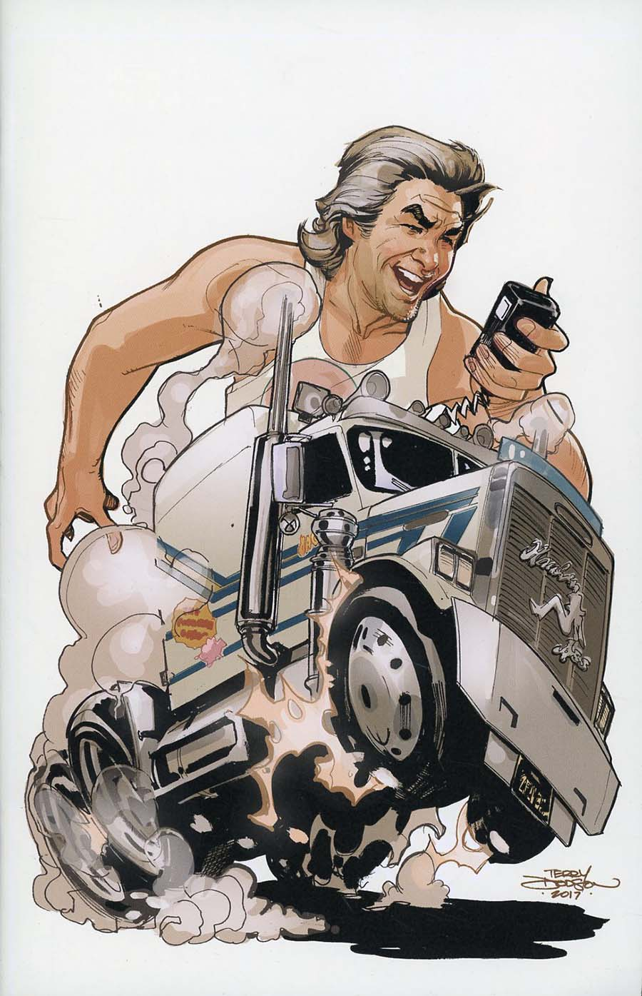 Big Trouble In Little China Old Man Jack #4 Cover E Incentive Terry Dodson Virgin Variant Cover