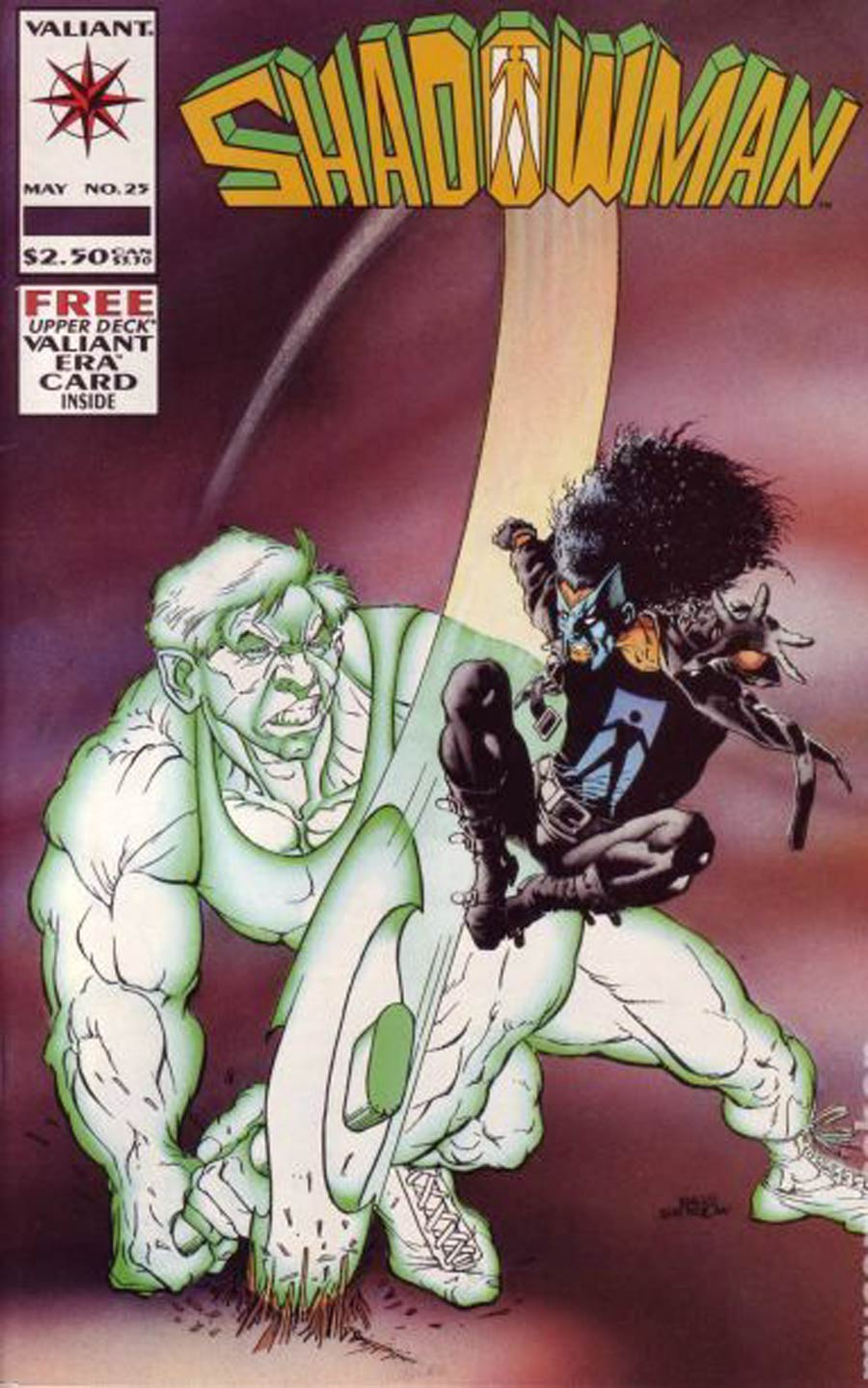 Shadowman #25 Cover B Without Card