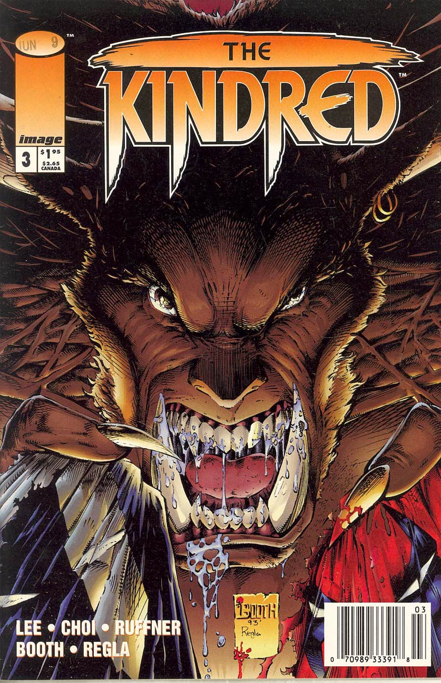 Kindred #3 Cover C Newsstand Edition