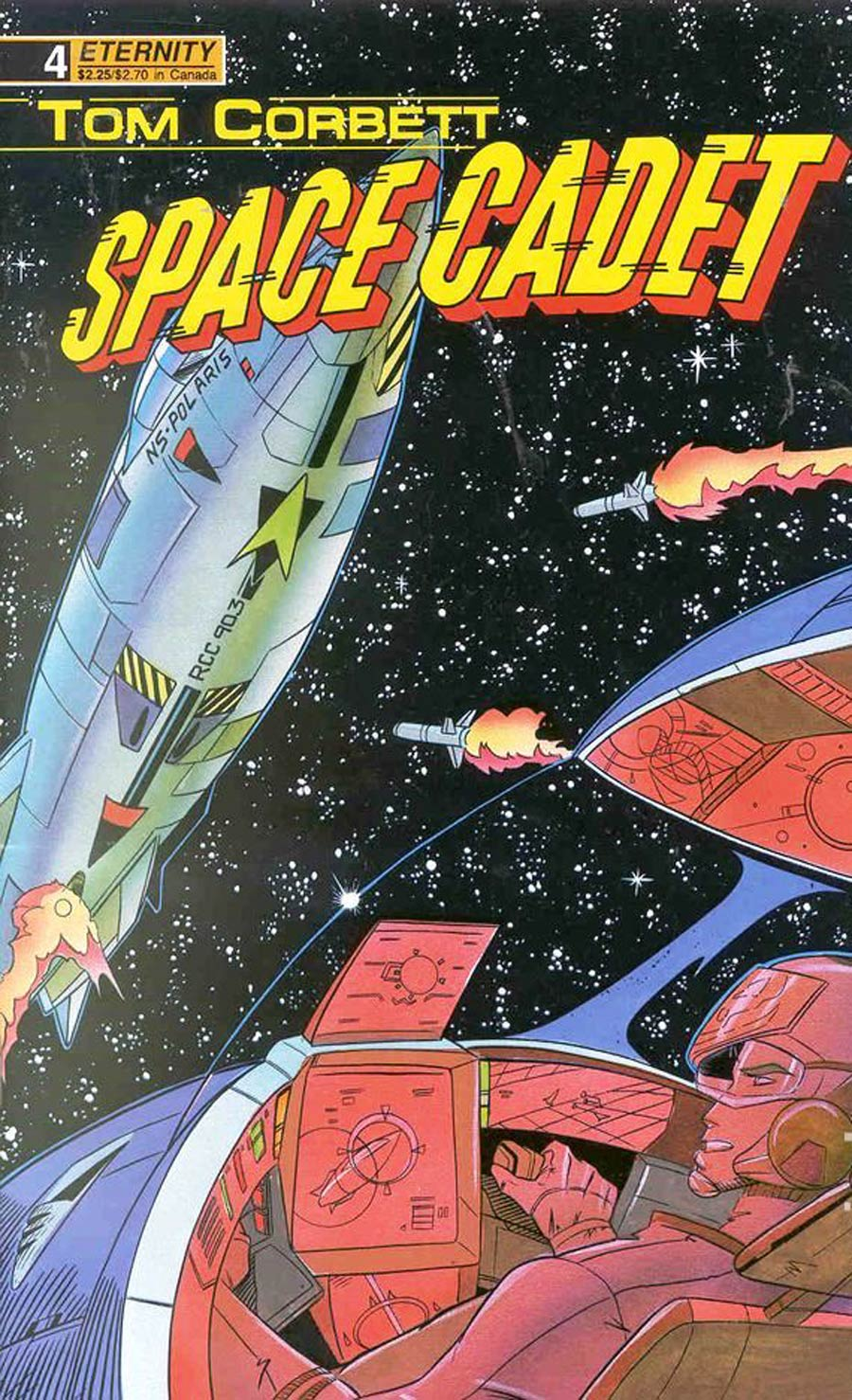 Tom Corbett Space Cadet Book One #4