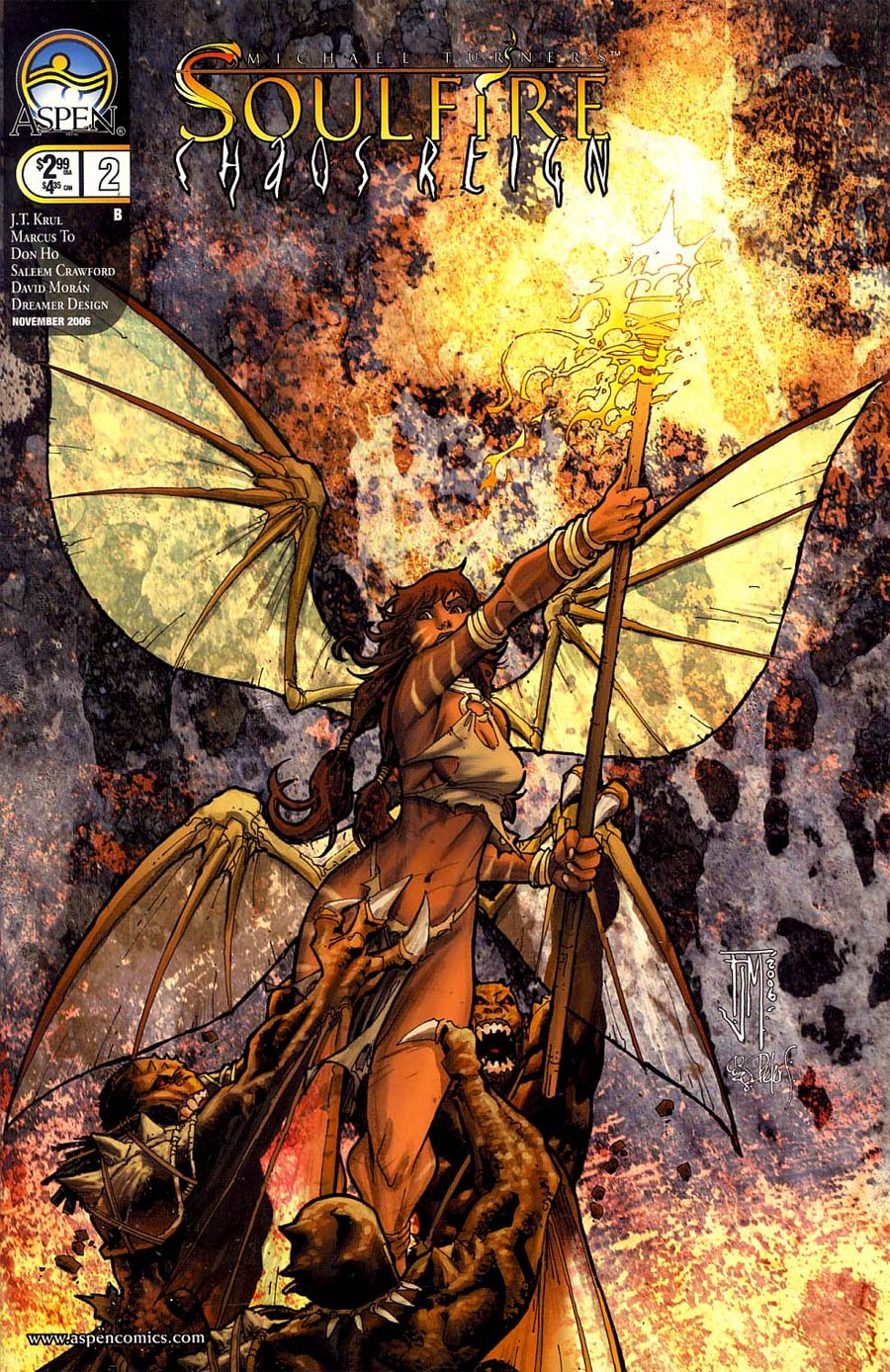 Soulfire Chaos Reign #2 Cover B