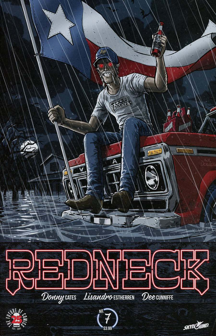 Redneck #7 Cover B Variant Nick Pitarra Charity Cover