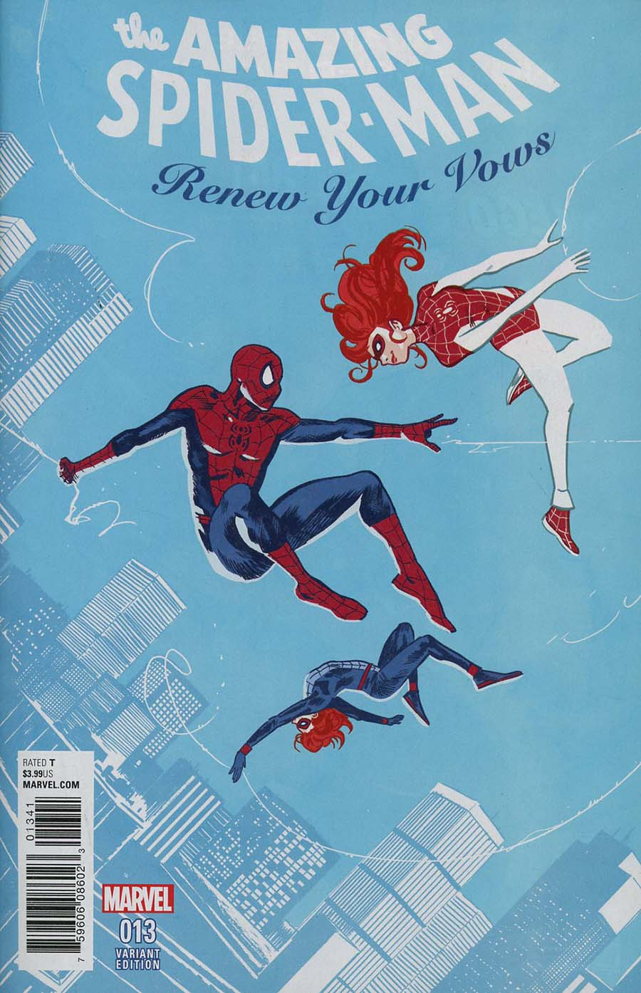 Amazing Spider-Man Renew Your Vows Vol 2 #13 Cover E Incentive Michael Walsh Variant Cover (Marvel Legacy Tie-In)