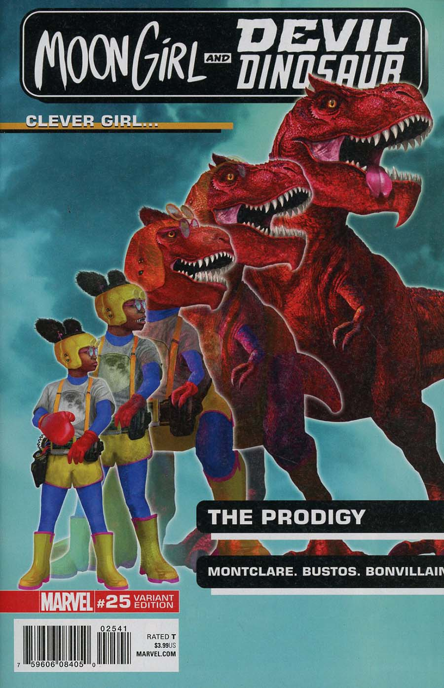 Moon Girl And Devil Dinosaur #25 Cover E Incentive Rahzzah Morphing Variant Cover (Marvel Legacy Tie-In)