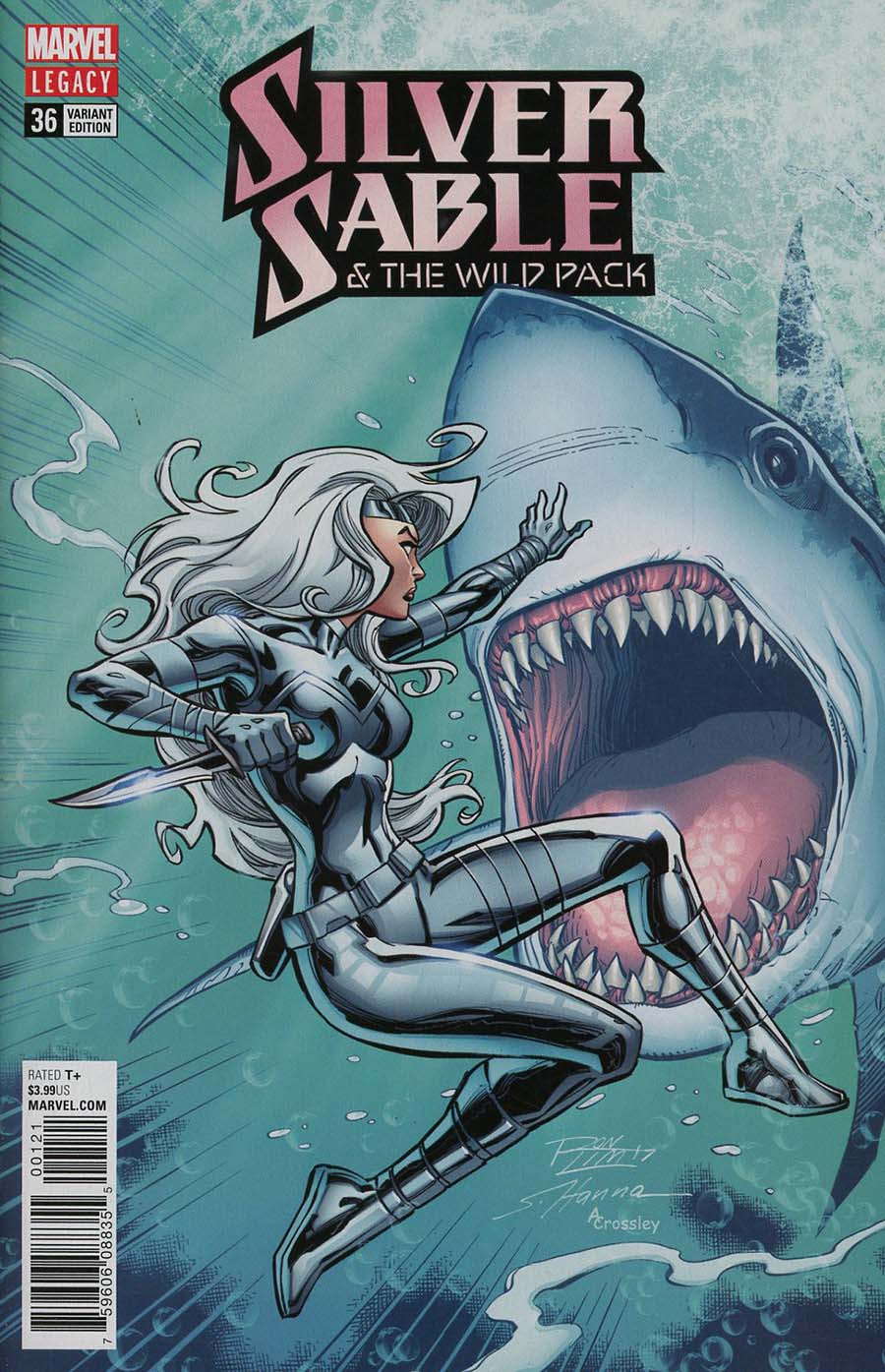 Silver Sable And The Wild Pack #36 Cover C Incentive Ron Lim Variant Cover (Marvel Legacy Tie-In)