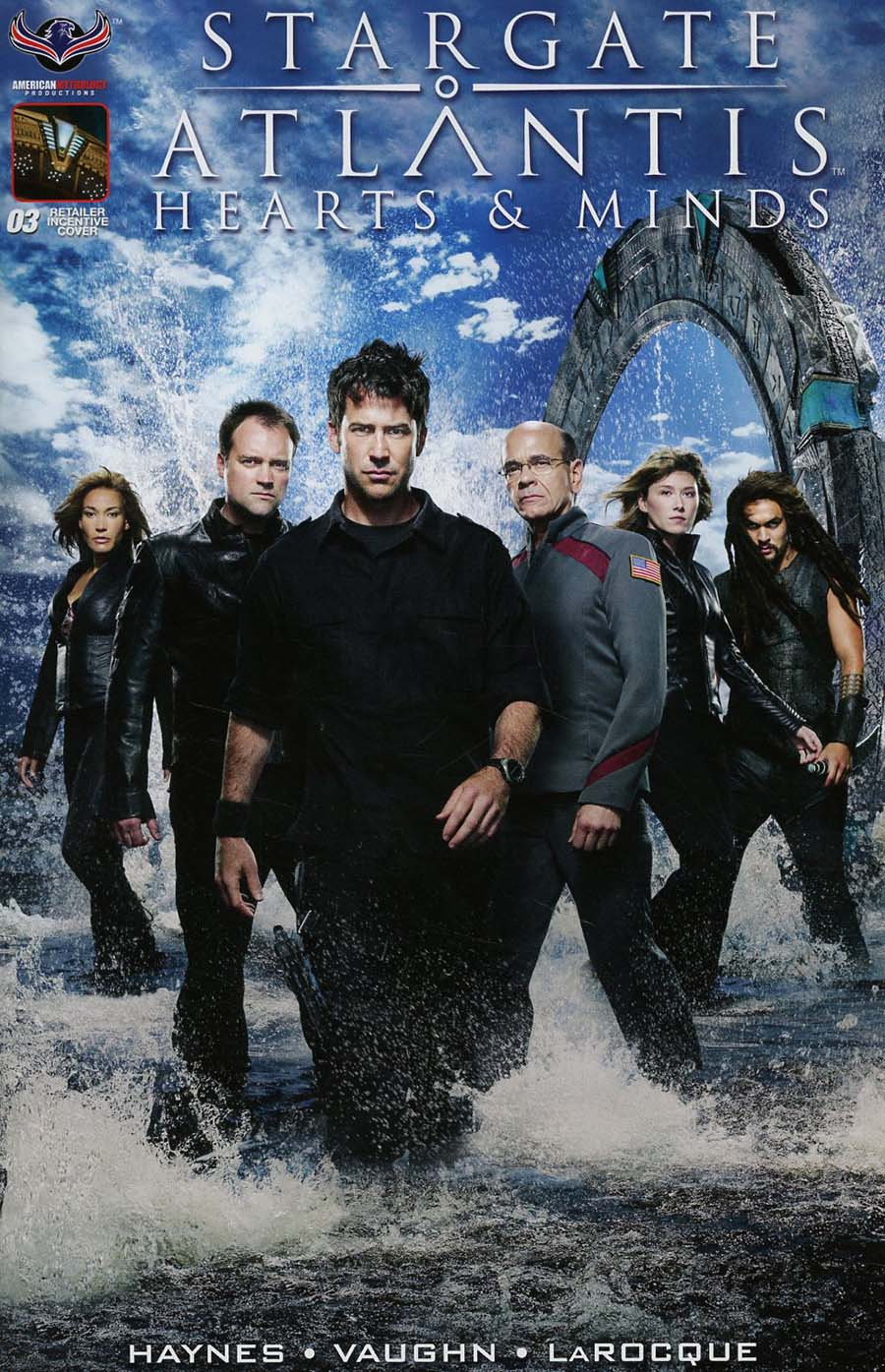 Stargate Atlantis Hearts & Minds #3 Cover D Incentive Limited Photo Variant Cover