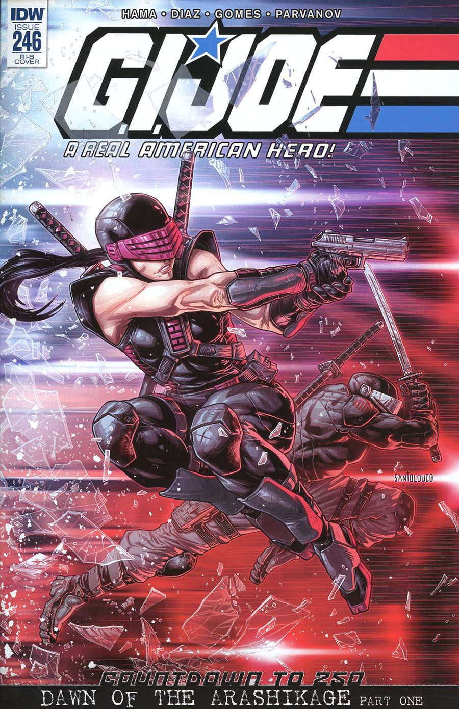 GI Joe A Real American Hero #246 Cover D Incentive Mateus Santolouco Variant Cover