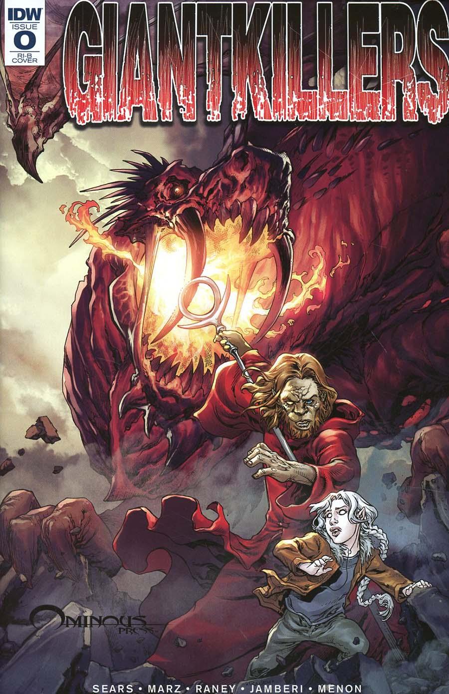 Giantkillers #0 Cover D Incentive Tom Raney Variant Cover