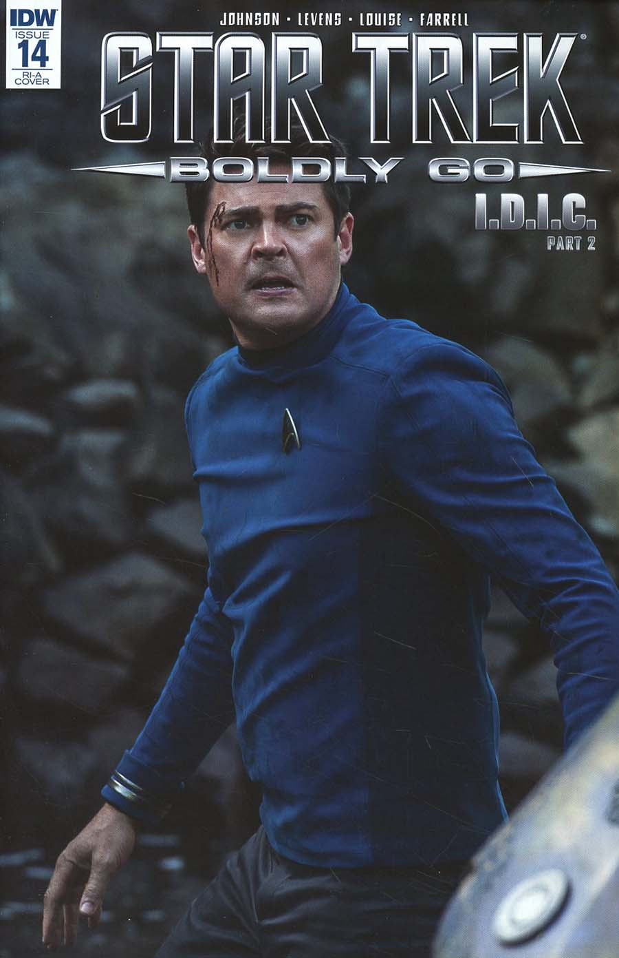 Star Trek Boldly Go #14 Cover C Incentive Photo Variant Cover