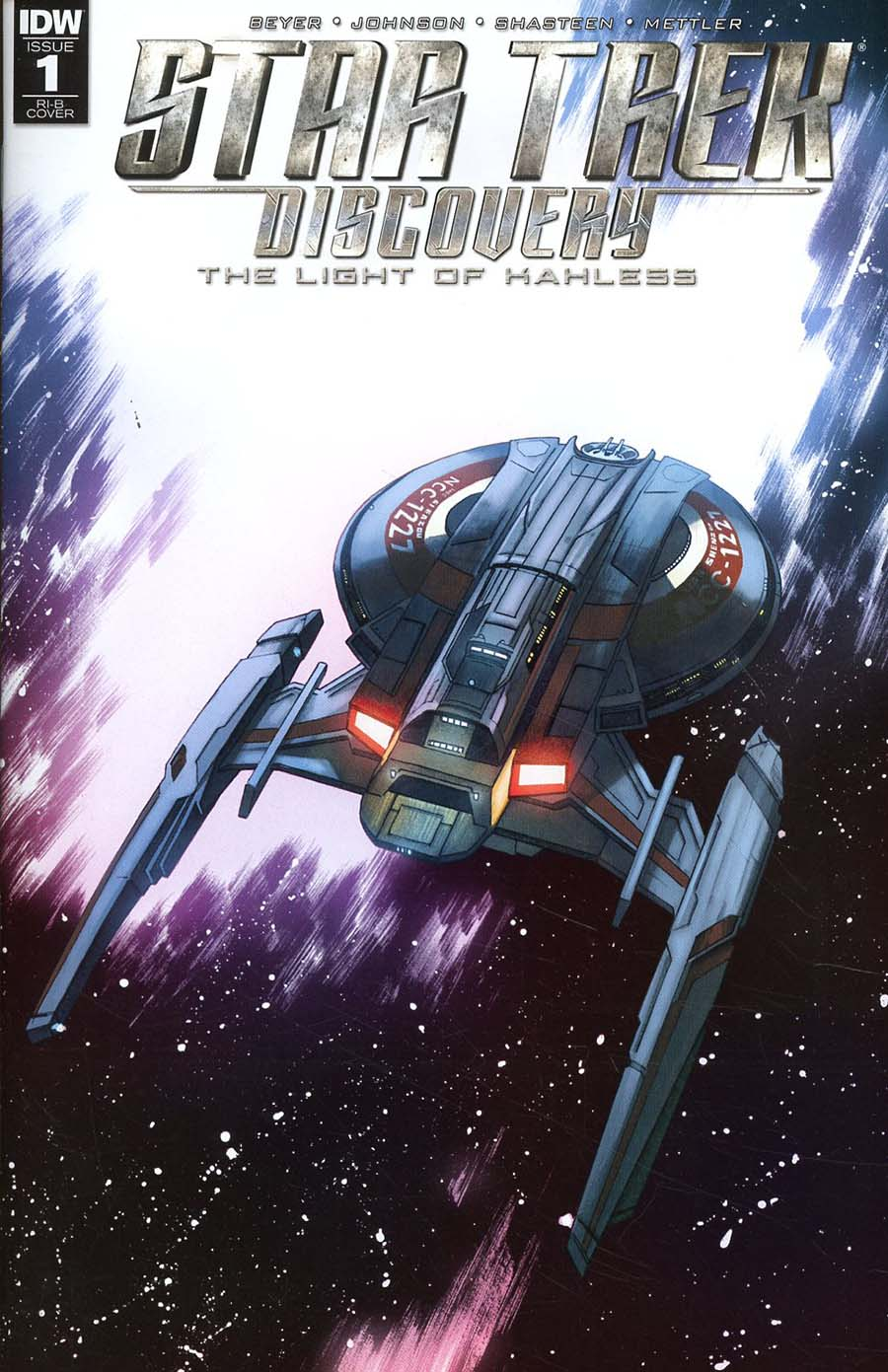Star Trek Discovery #1 Cover D Incentive Declan Shalvey & Jordie Bellaire Variant Cover