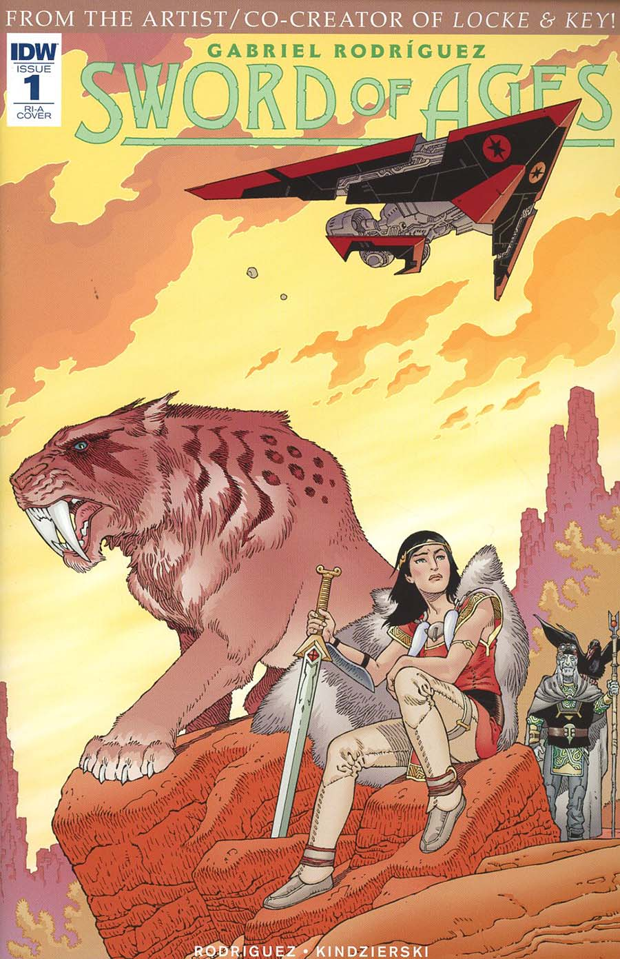 Sword Of Ages #1 Cover C Incentive Gabriel Rodriguez Variant Cover