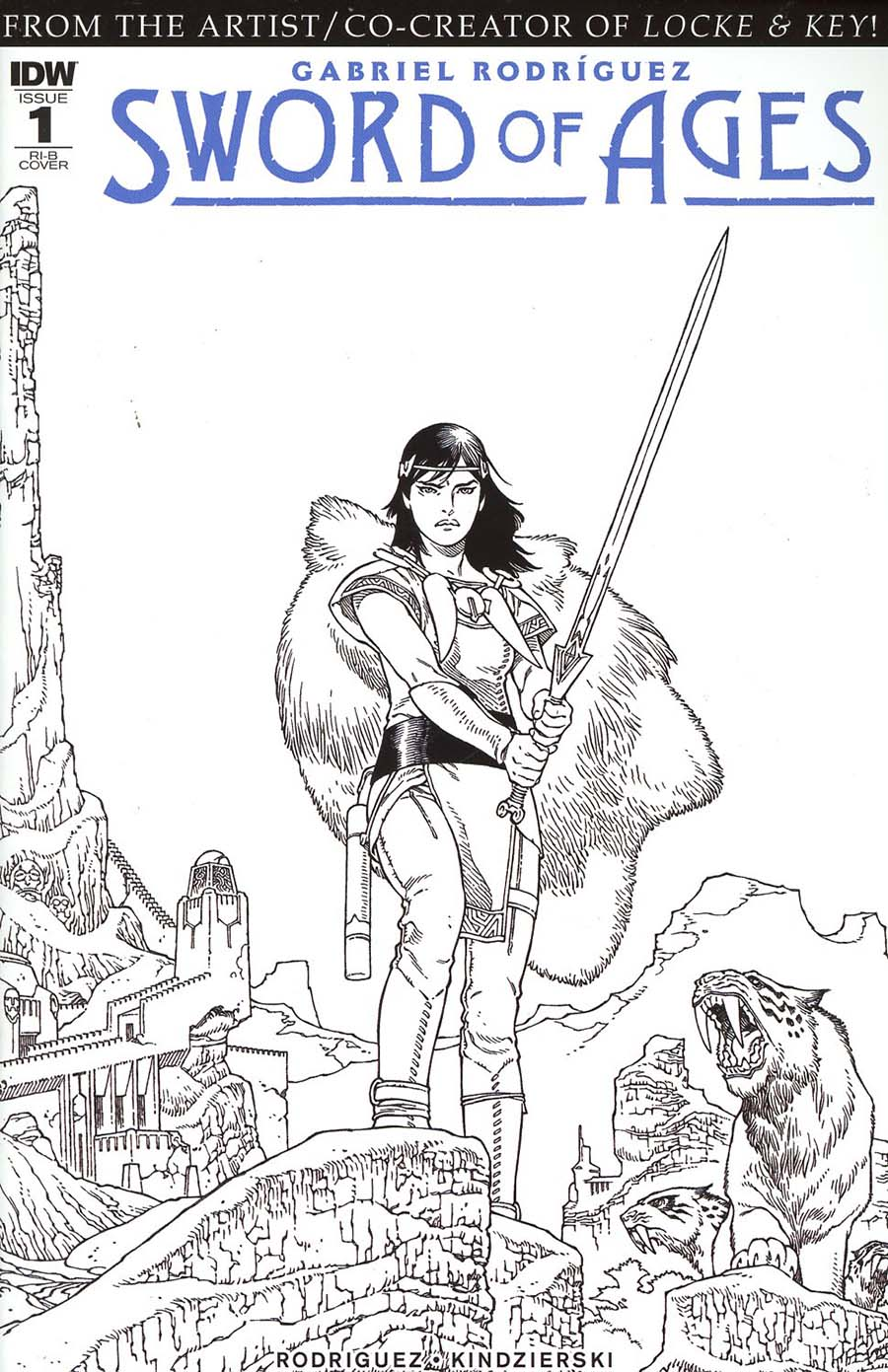 Sword Of Ages #1 Cover D Incentive Gabriel Rodriguez Variant Cover
