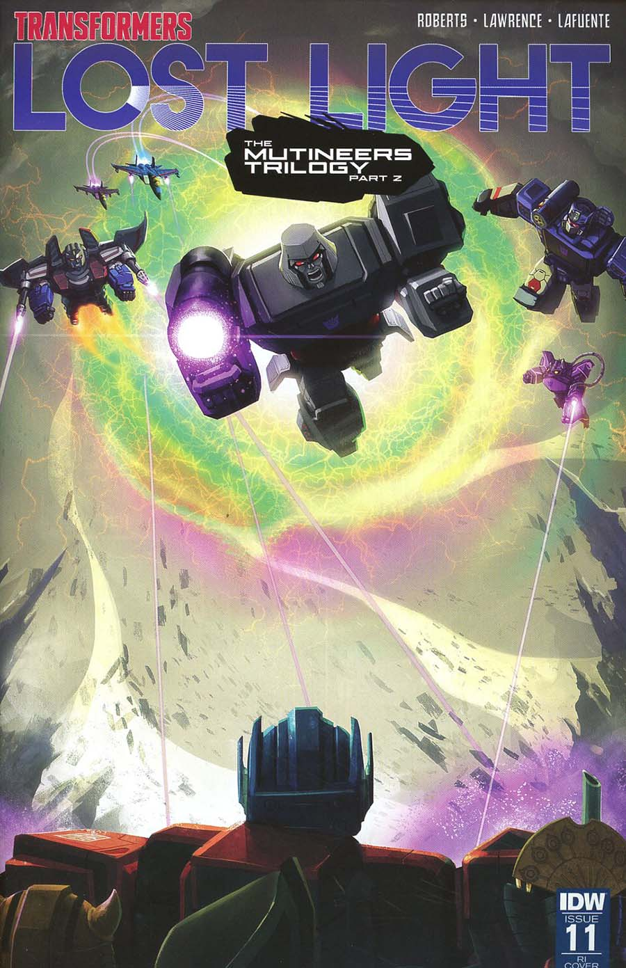 Transformers Lost Light #11 Cover D Incentive Joana Lafuente Variant Cover