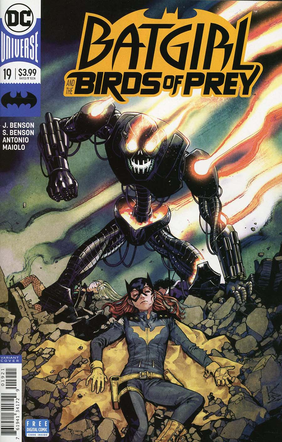 Batgirl And The Birds Of Prey #19 Cover B Variant Kamome Shirahama Cover