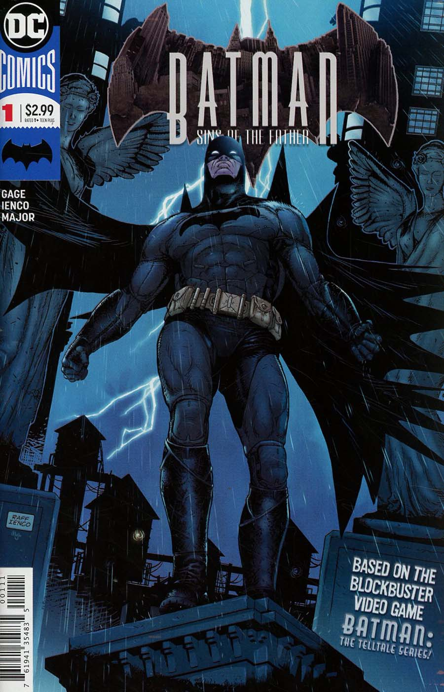 Batman Sins Of The Father #1 Cover A Regular Raffaele Ienco Cover