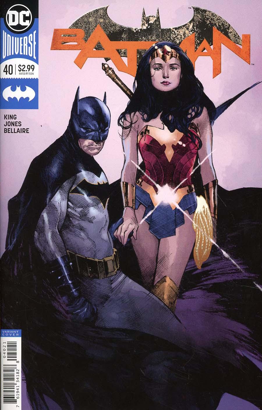 Batman Vol 3 #40 Cover B Variant Olivier Coipel Cover