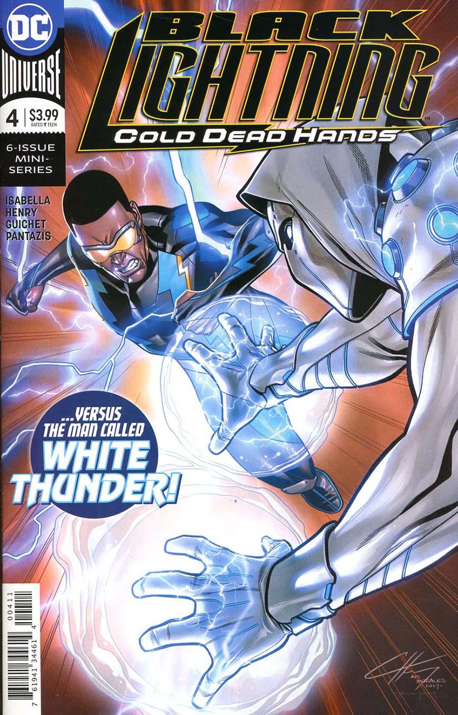 Black Lightning Cold Dead Hands #4