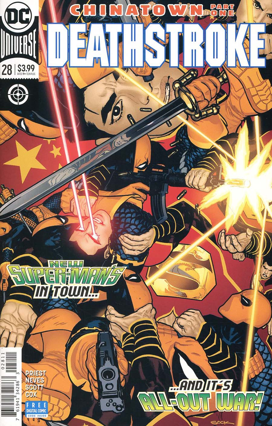 Deathstroke Vol 4 #28 Cover A Regular Ryan Sook Cover