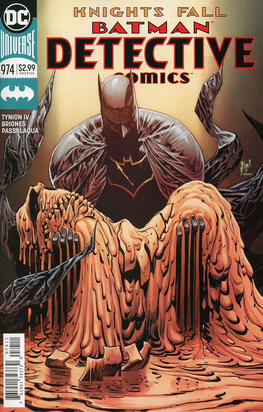 Detective Comics Vol 2 #974 Cover A Regular Guillem March Cover