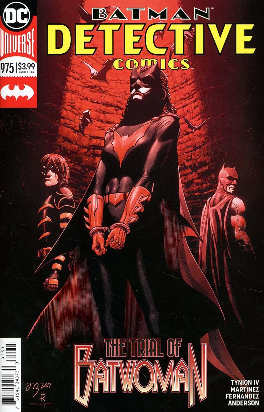 Detective Comics Vol 2 #975 Cover A Regular Alvaro Martinez & Raul Fernandez Cover