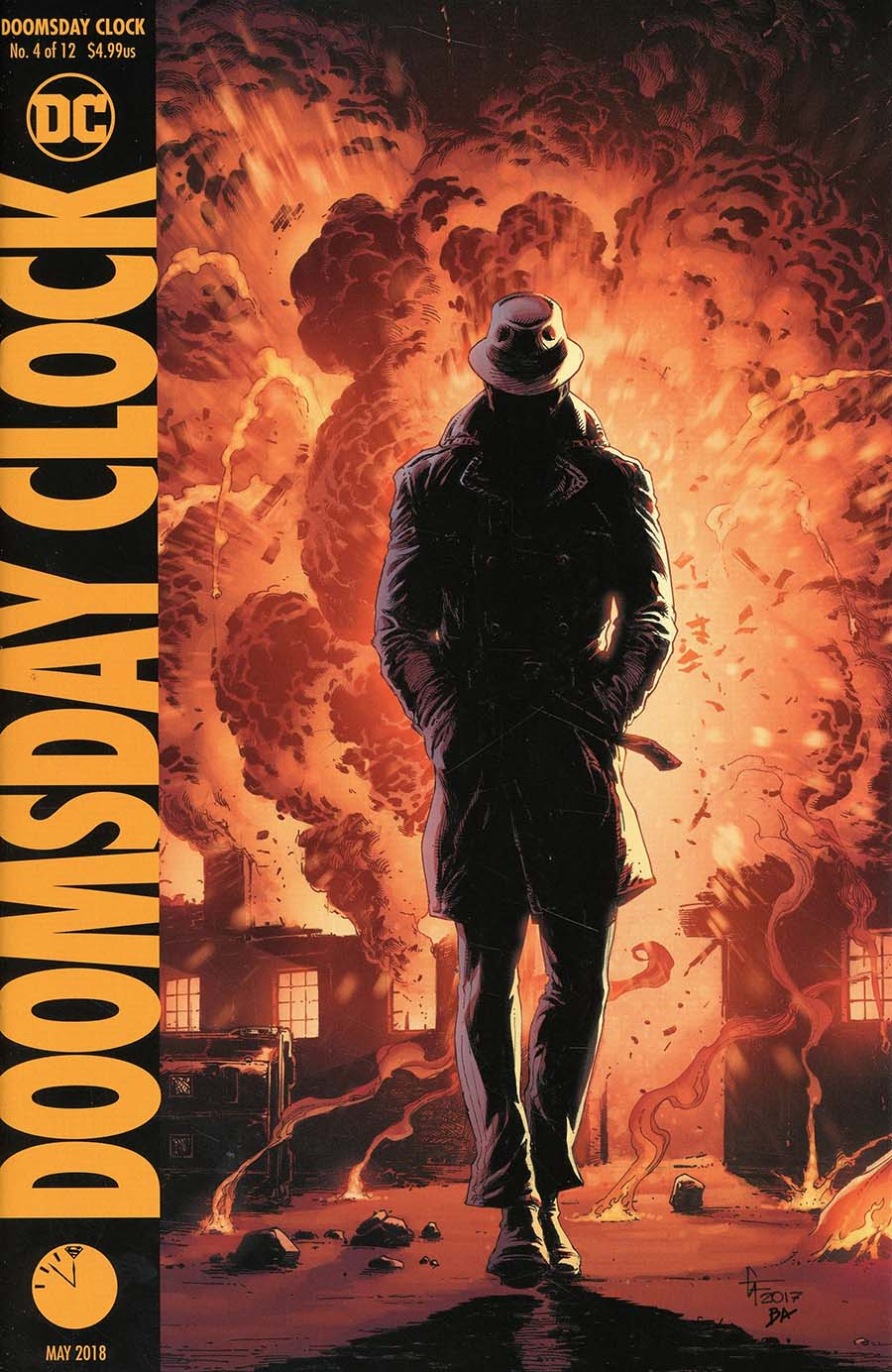 Doomsday Clock #4 Cover B Variant Gary Frank Cover