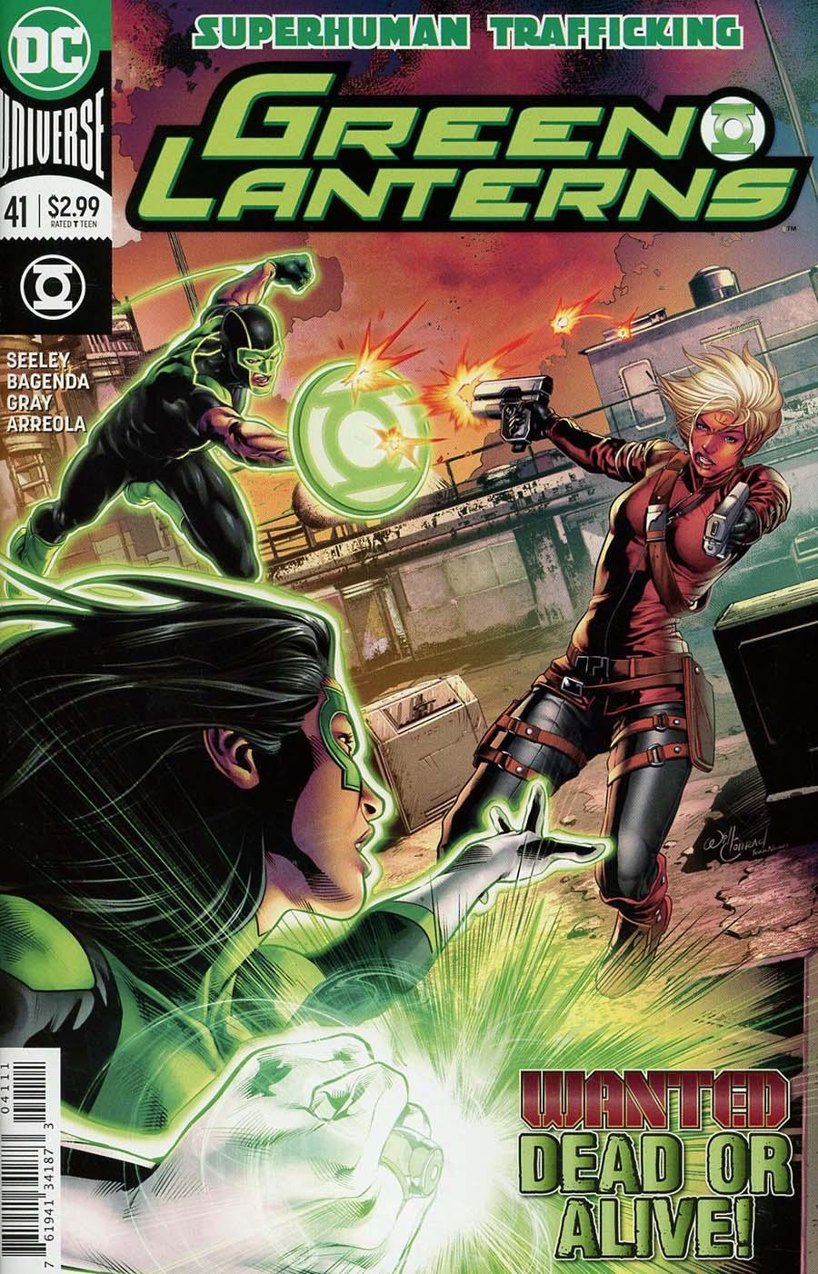 Green Lanterns #41 Cover A Regular Will Conrad Cover