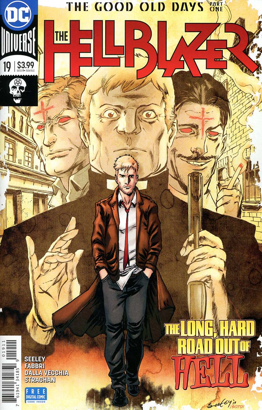 Hellblazer Vol 2 #19 Cover A Regular Tim Seeley Cover