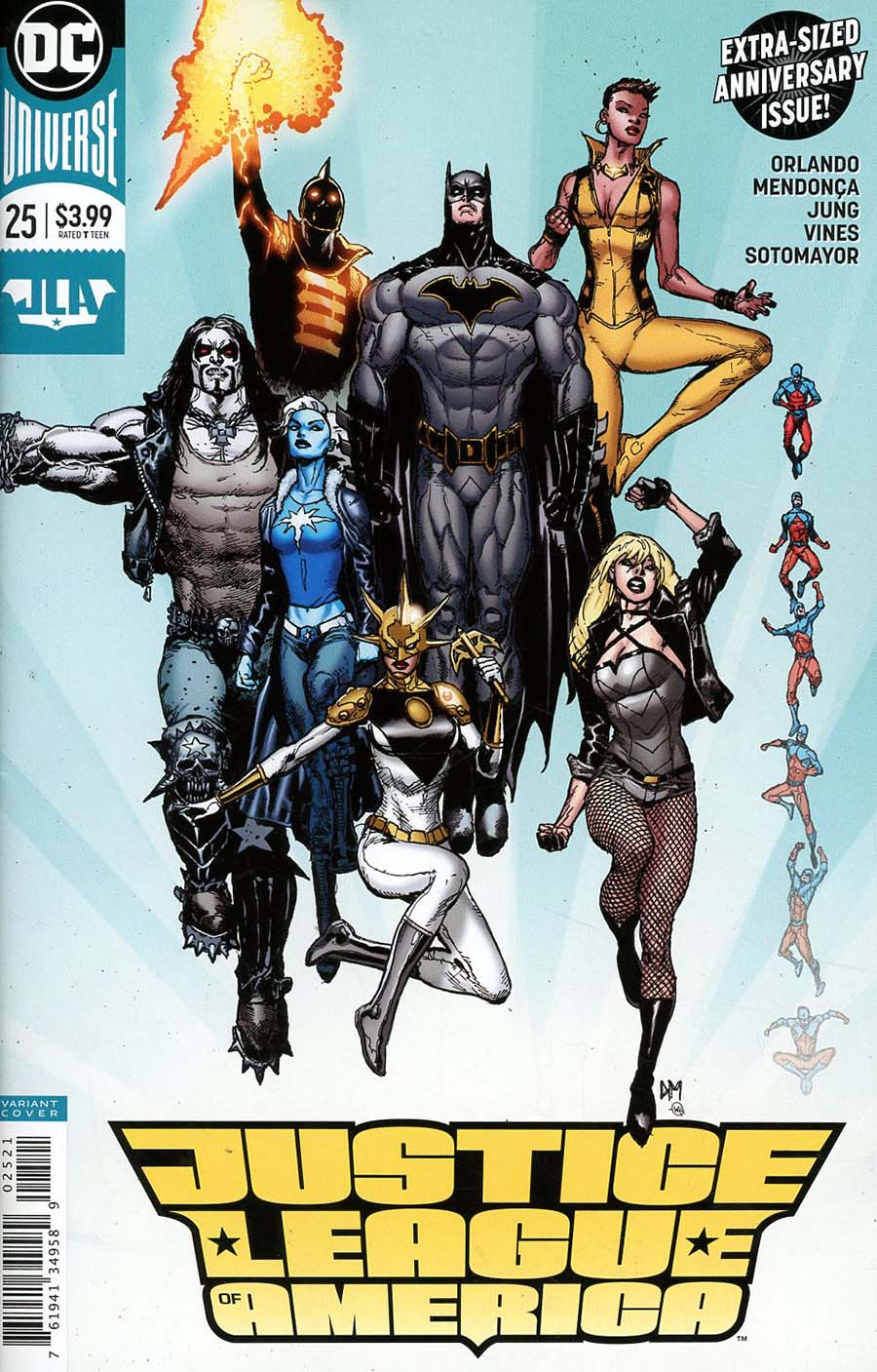 Justice League Of America Vol 5 #25 Cover B Variant Doug Mahnke Cover