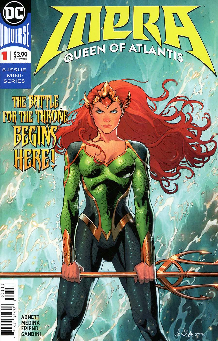 Mera Queen Of Atlantis #1 Cover A Regular Nicola Scott Cover