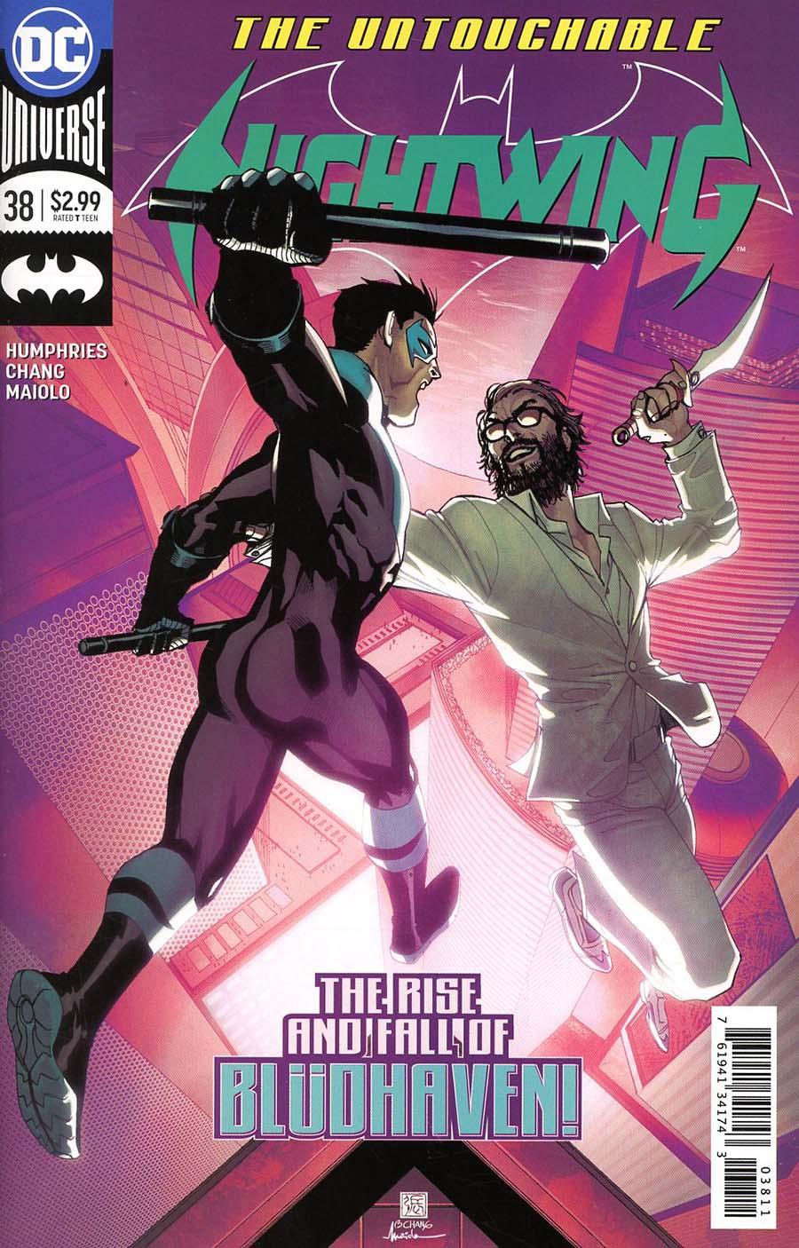 Nightwing Vol 4 #38 Cover A Regular Bernard Chang Cover