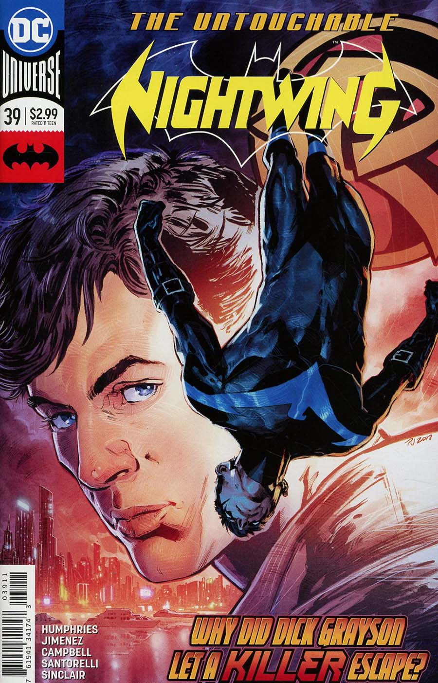 Nightwing Vol 4 #39 Cover A Regular Phil Jimenez Cover