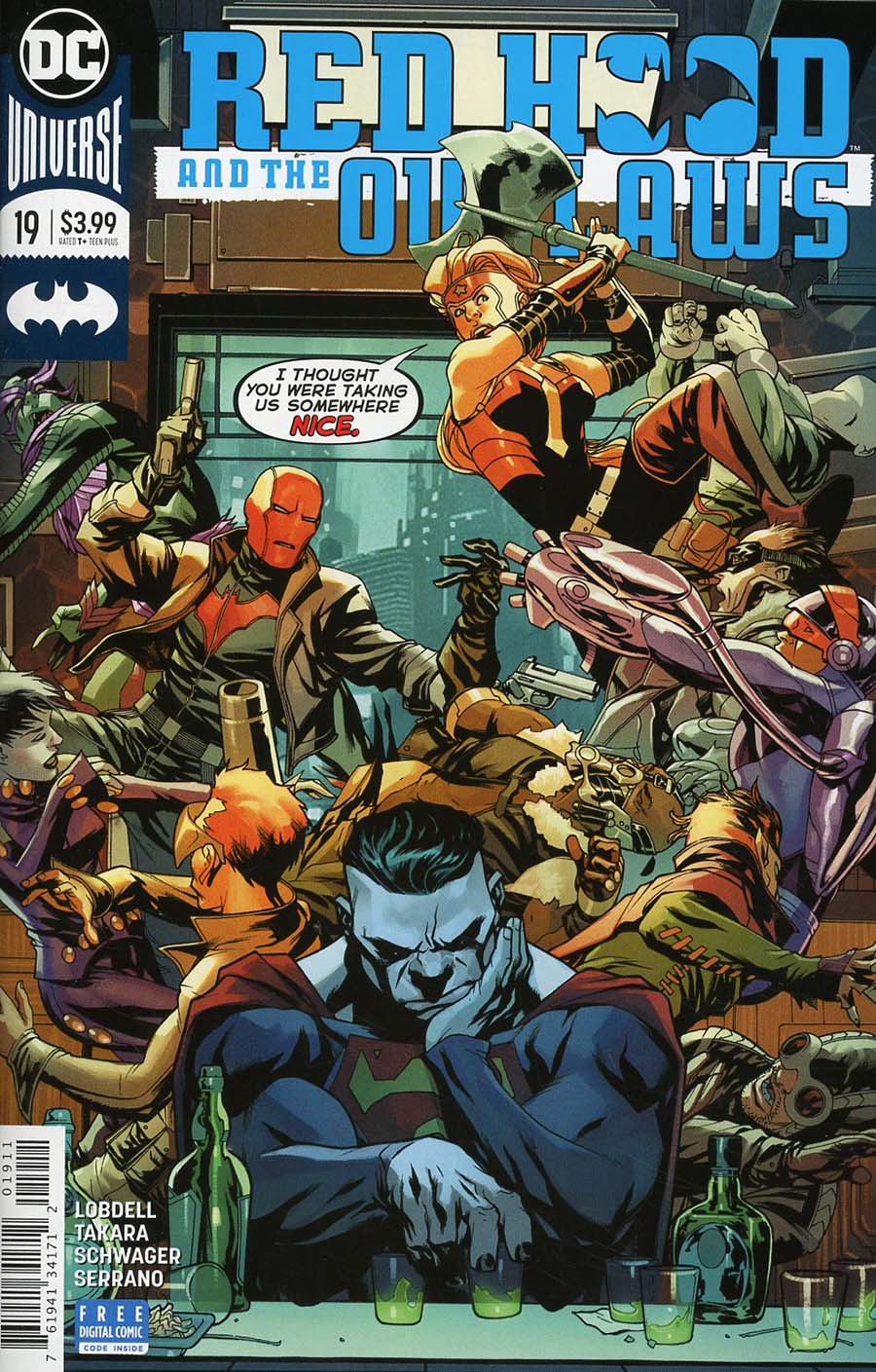 Red Hood And The Outlaws Vol 2 #19 Cover A Regular Mike McKone Cover