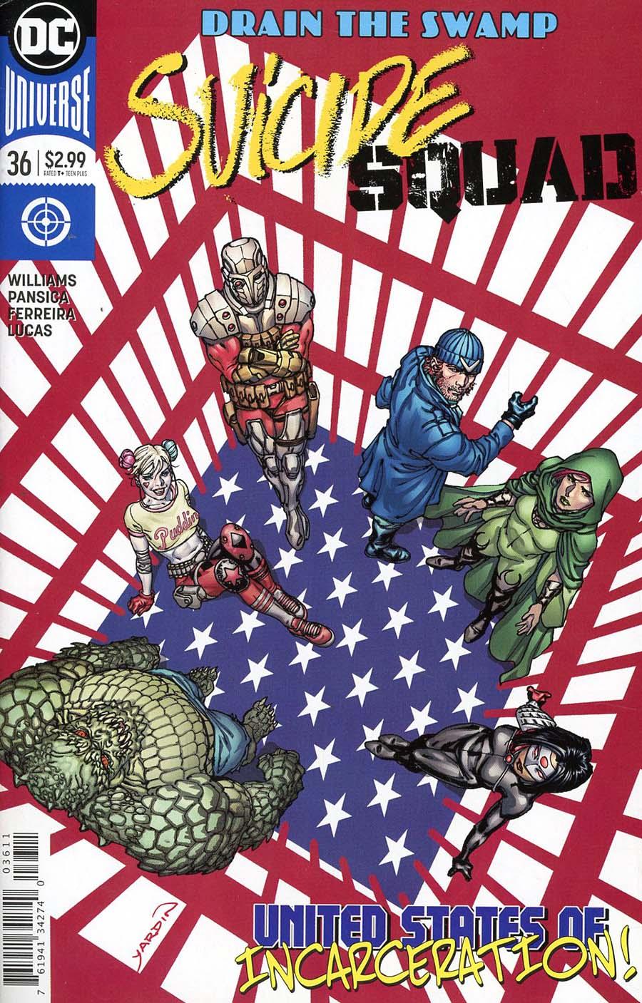 Suicide Squad Vol 4 #36 Cover A Regular David Yardin Cover