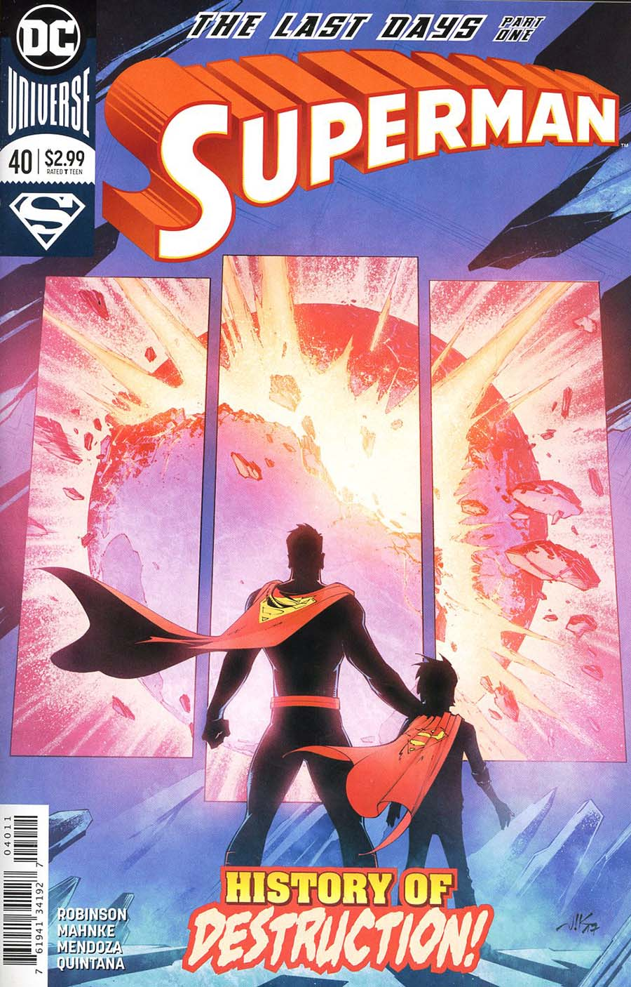 Superman Vol 5 #40 Cover A Regular Viktor Bogdanovic Cover