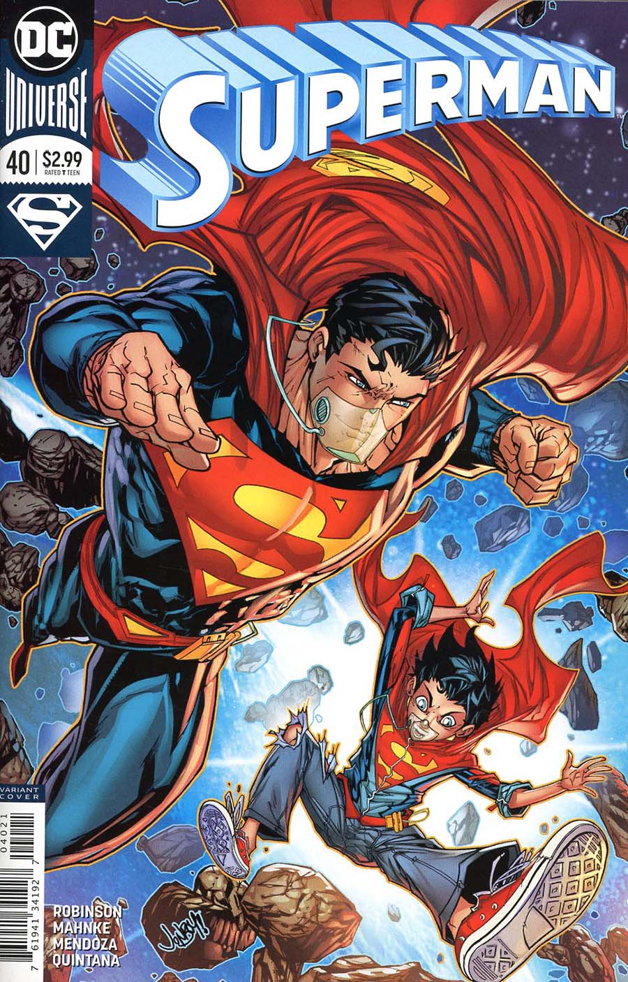 Superman Vol 5 #40 Cover B Variant Jonboy Meyers Cover