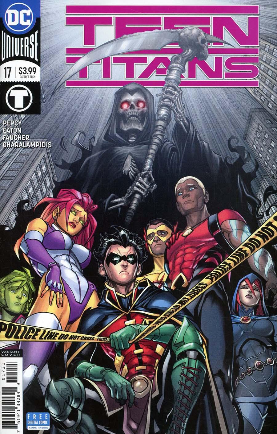 Teen Titans Vol 6 #17 Cover B Variant Chad Hardin Cover