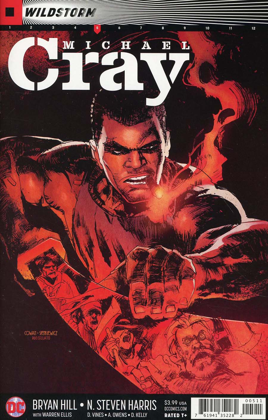 Wildstorm Michael Cray #5 Cover A Regular Denys Cowan & Bill Sienkiewicz Cover