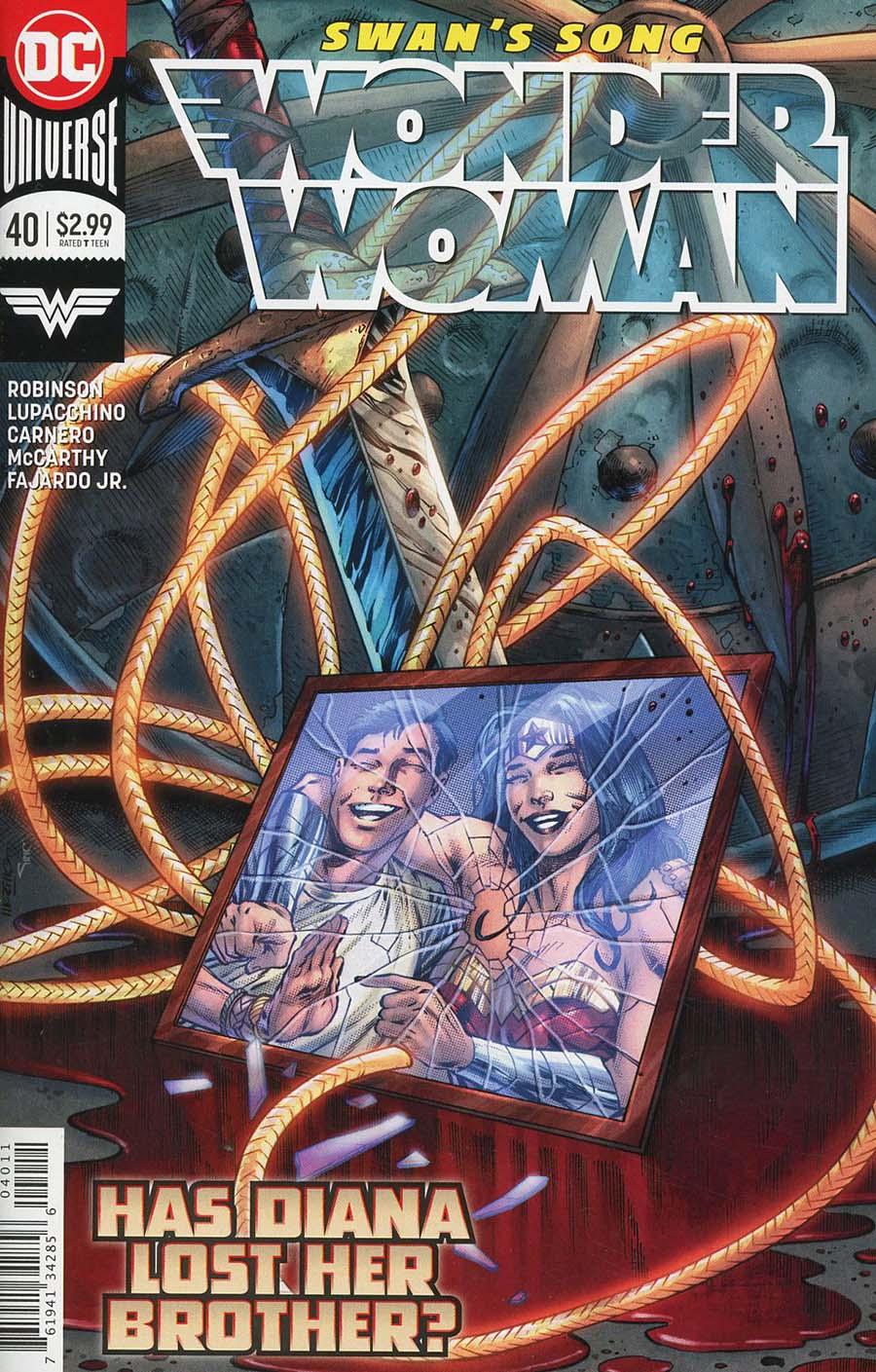 Wonder Woman Vol 5 #40 Cover A Regular Jesus Merino Cover