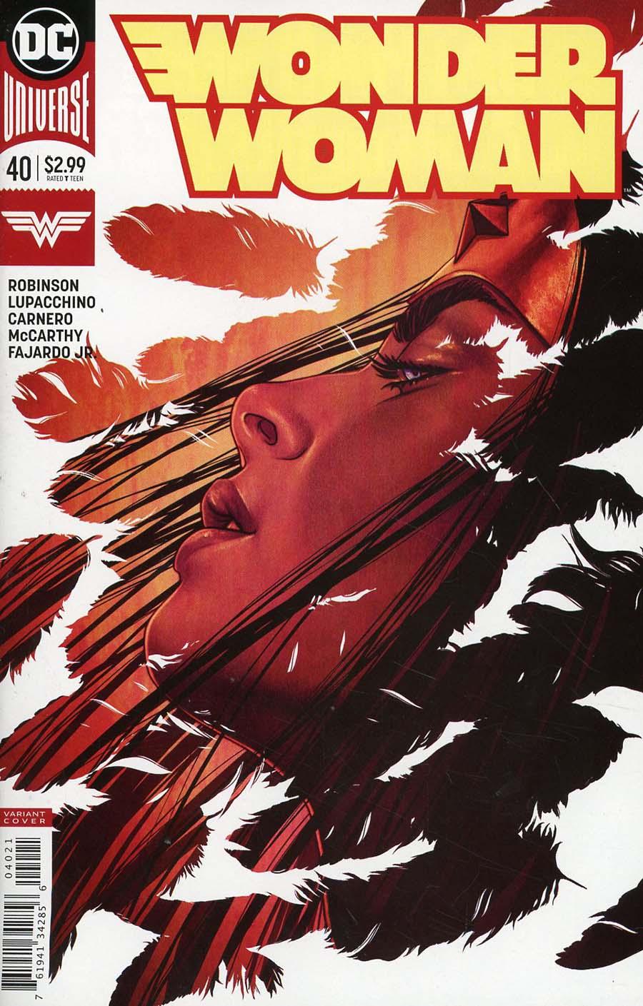 Wonder Woman Vol 5 #40 Cover B Variant Jenny Frison Cover