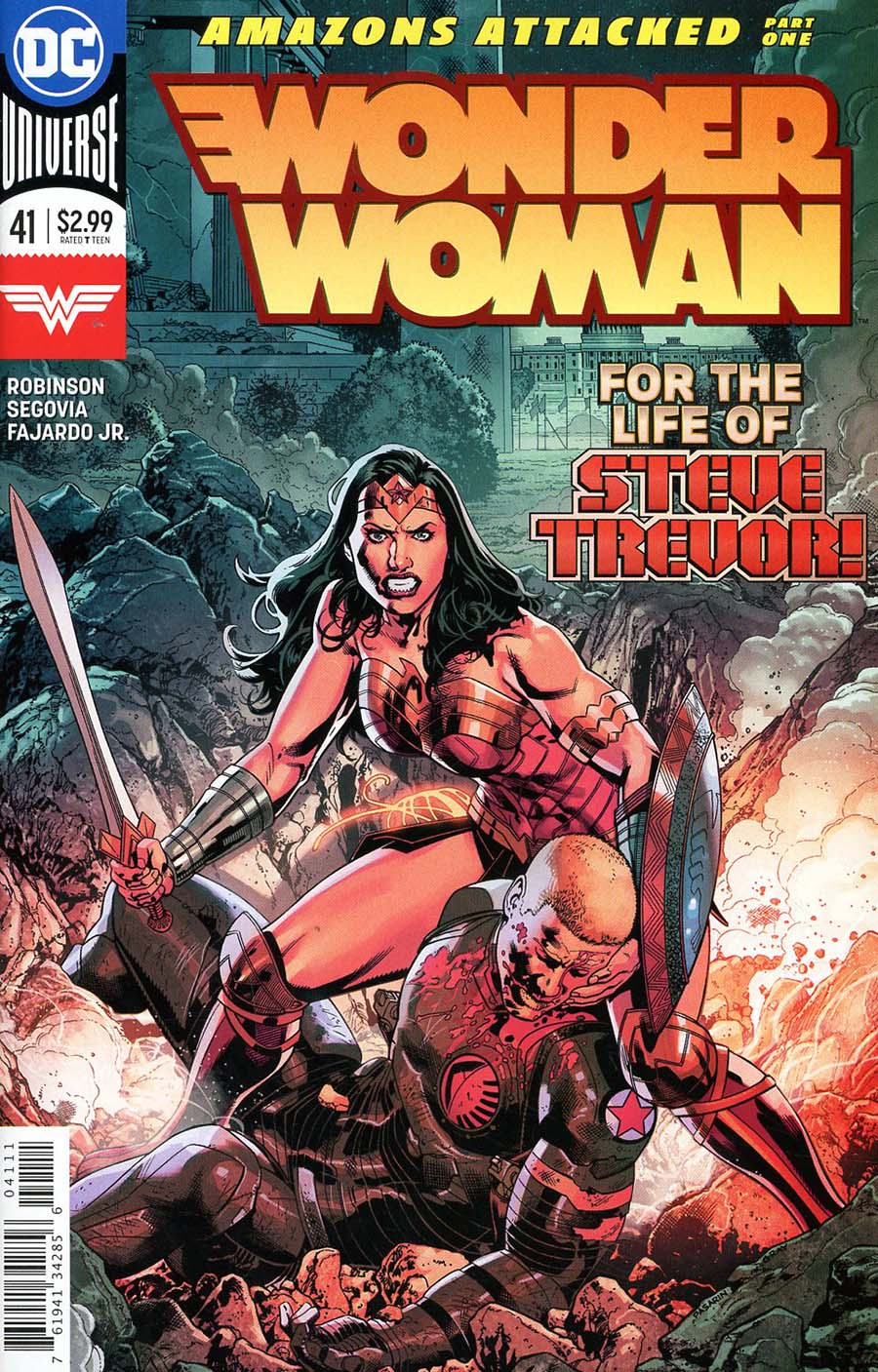 Wonder Woman Vol 5 #41 Cover A Regular Bryan Hitch Cover