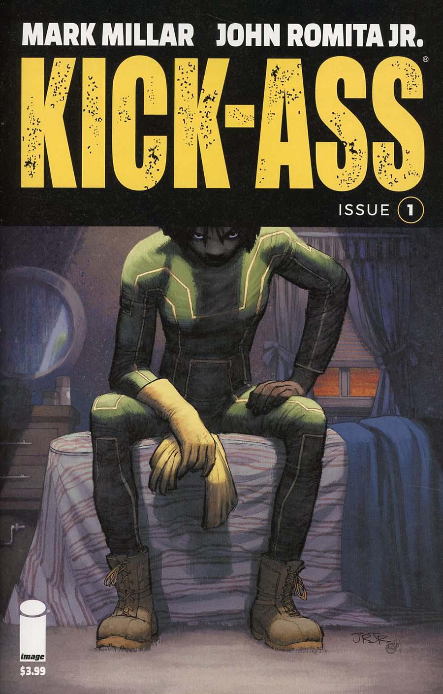 Kick-Ass Vol 4 #1 Cover A 1st Ptg Regular John Romita Jr Color Cover