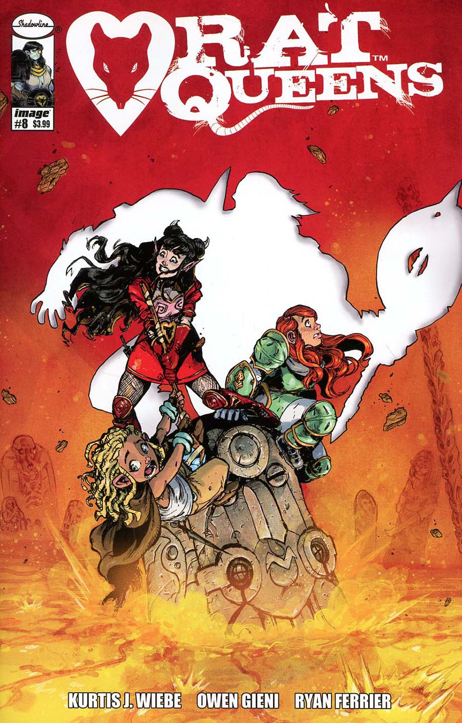 Rat Queens Vol 2 #8 Cover A Regular Owen Gieni Cover