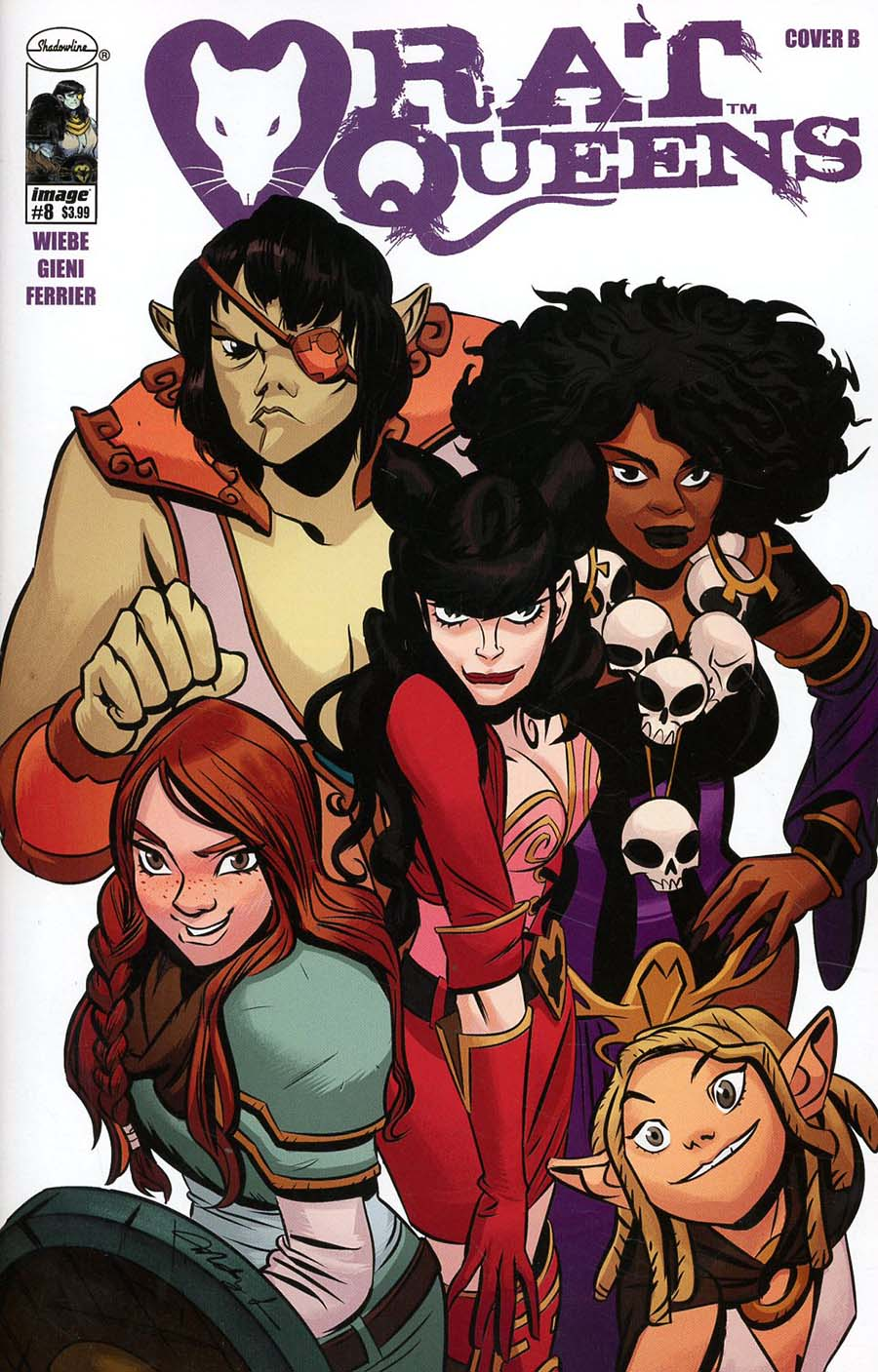 Rat Queens Vol 2 #8 Cover B Variant Mindy Lee Cover