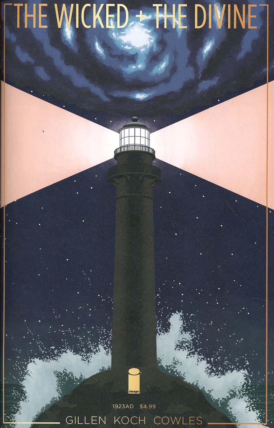 Wicked + The Divine 1923 One Shot Cover A Regular Jamie McKelvie & Matt Wilson Cover