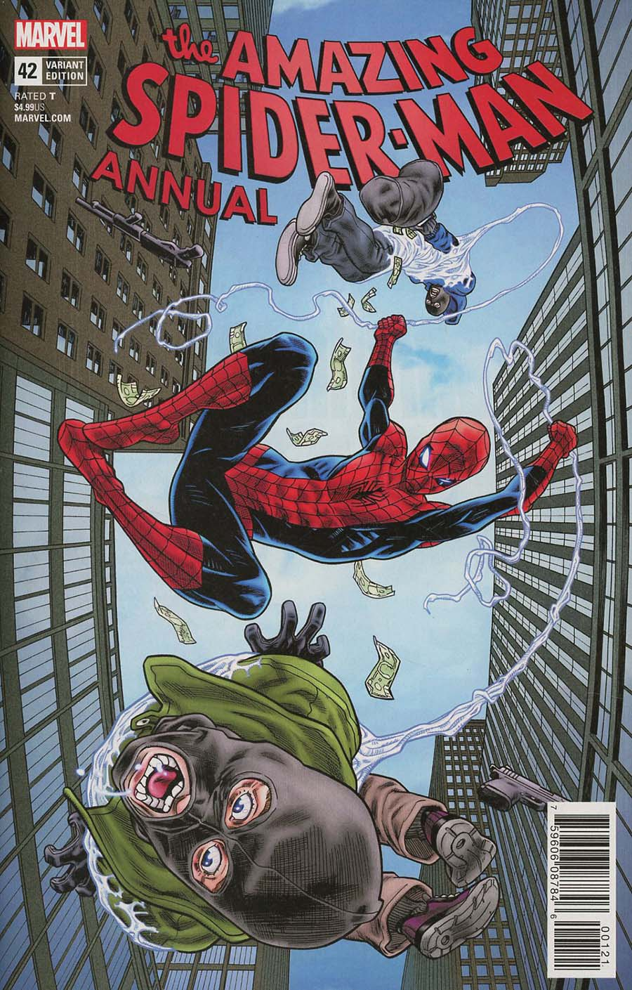 Amazing Spider-Man Vol 4 Annual #42 Cover B Variant Mike Hawthorne Cover (Marvel Legacy Tie-In)