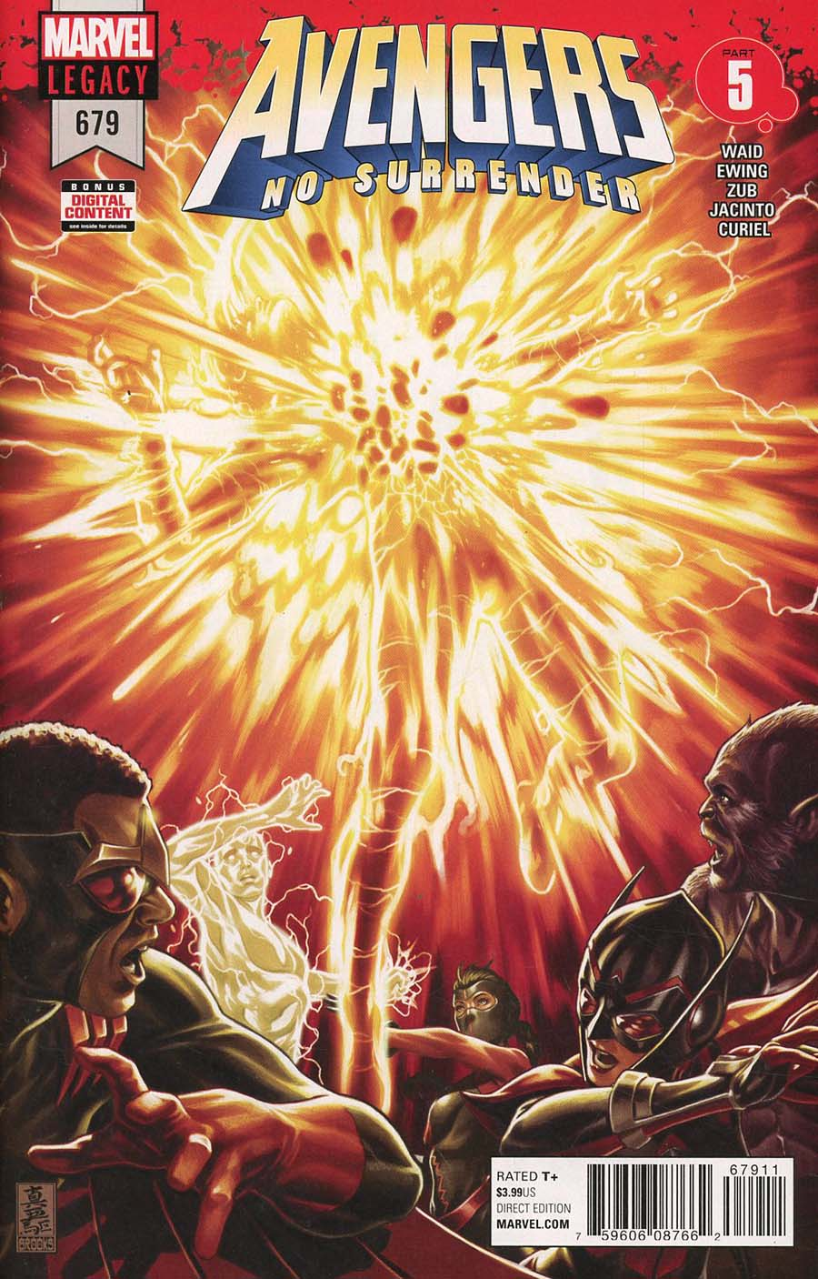 Avengers Vol 6 #679 Cover A 1st Ptg Regular Mark Brooks Cover (No Surrender Part 5)(Marvel Legacy Tie-In)