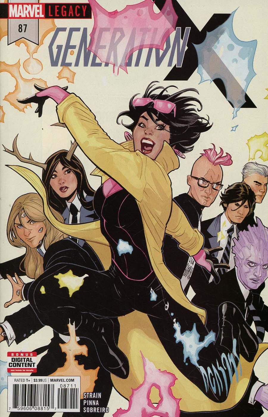 Generation X Vol 2 #87 (Marvel Legacy Tie-In)