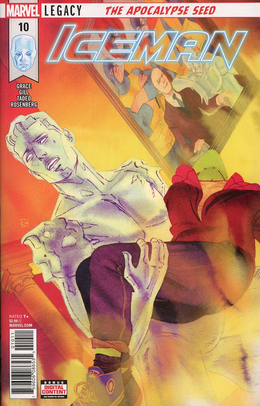 Iceman Vol 3 #10 (Marvel Legacy Tie-In)