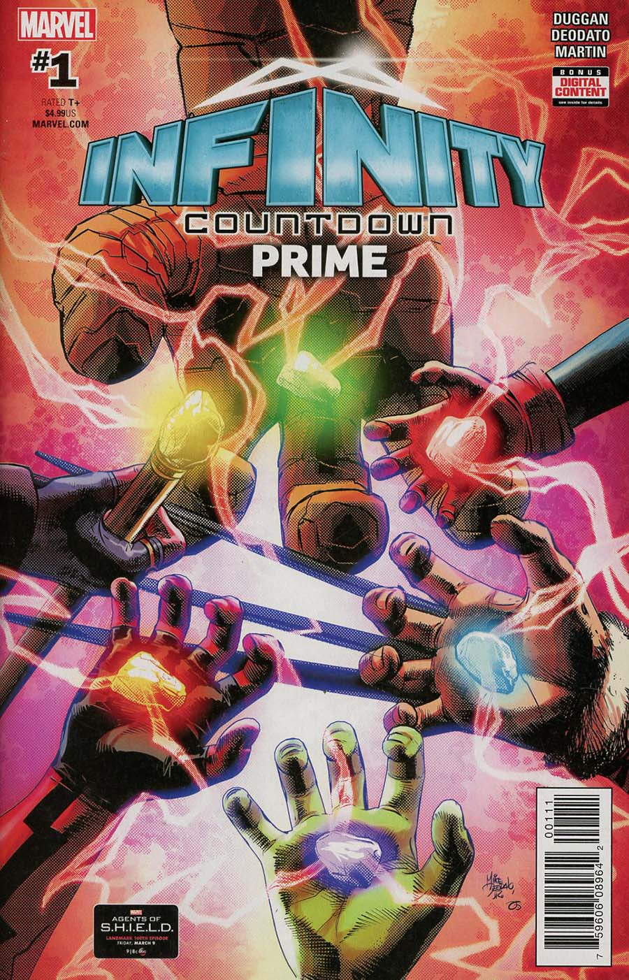 Infinity Countdown Prime #1 Cover A 1st Ptg Regular Cover (Marvel Legacy Tie-In)