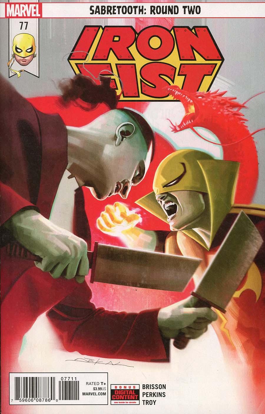 Iron Fist Vol 5 #77 (Marvel Legacy Tie-In)